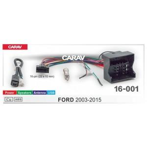 ISO переходник CARAV 16-001 для Ford