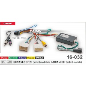 ISO переходник CARAV 16-032 для Dacia