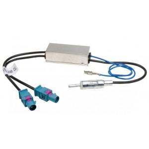 Антенный переходник INTRO ISO ANT-3 AMP для Audi, Volkswagen, Ford, Seat, Skoda с питанием