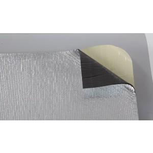Теплозвукоизоляционный фольгированный материал TURBODAMP Изолонтейп 4мм