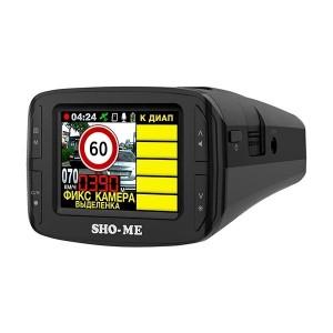 Видеорегистратор автомобильный с радар-детектором SHO-ME COMBO №3 ICATCH