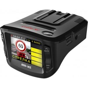Видеорегистратор автомобильный с радар-детектором SHO-ME COMBO №1 A7