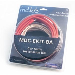 Набор для подключения усилителей MD.LAB MDC EKIT-8A