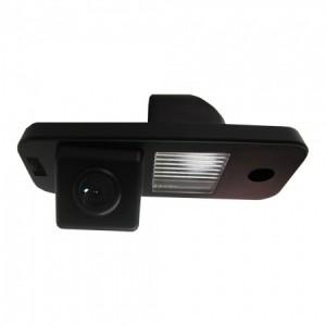 Штатная камера заднего вида MYDEAN VCM-453C для Hyundai Santa Fe (2013-)