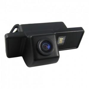 Штатная камера заднего вида MYDEAN VCM-302C для Nissan Note (2005-), Juke (2010-), Qashqai (2006-2014), X-Trail (2007-2014), Pathfinder (2004-2014), Patrol (2010-)