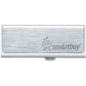 USB флешка SMARTBUY 16 GB DUO SILVER