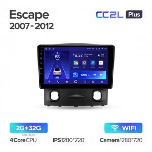 Штатная автомагнитола на Android TEYES CC2L Plus для Ford Escape 2007-2012