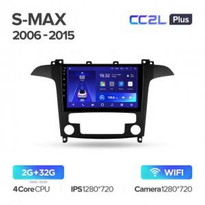 Штатная автомагнитола на Android TEYES CC2L Plus для Ford S-MAX 1 2006-2015