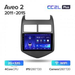 Штатная автомагнитола на Android TEYES CC2L Plus для Chevrolet Aveo 2 2011-2015