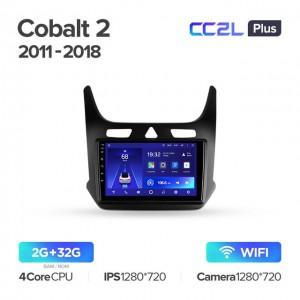 Штатная автомагнитола на Android TEYES CC2L Plus для Chevrolet Cobalt 2 2011-2018