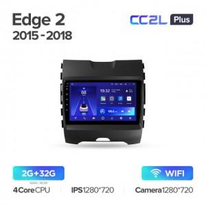 Штатная автомагнитола на Android TEYES CC2L Plus для Ford Edge 2 2015-2018