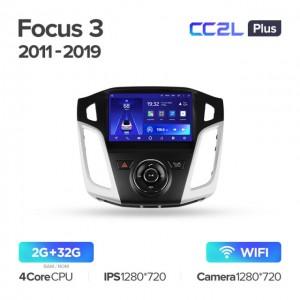 Штатная автомагнитола на Android TEYES CC2L Plus для Ford Focus 3 Mk 3 2011-2019