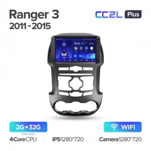 Штатная автомагнитола на Android TEYES CC2L Plus для Ford Ranger 3 2011-2015