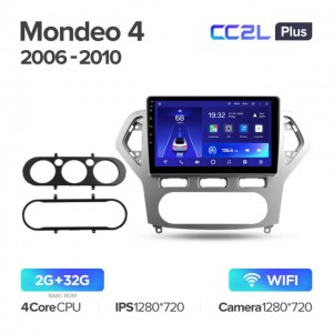 Штатная автомагнитола на Android TEYES CC2L Plus для Ford Mondeo 4 2006-2010