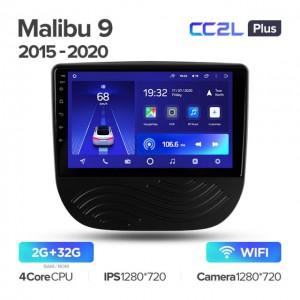 Штатная автомагнитола на Android TEYES CC2L Plus для Chevrolet Malibu 9 2015-2020