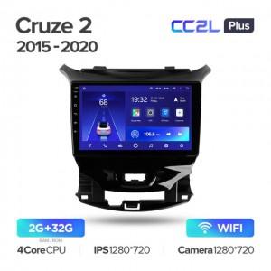 Штатная автомагнитола на Android TEYES CC2L Plus для Chevrolet Cruze 2 2015-2020