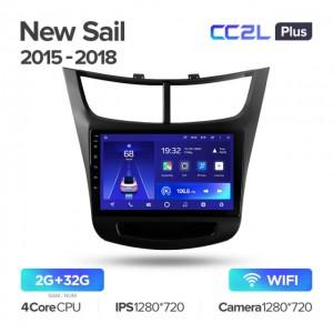 Штатная автомагнитола на Android TEYES CC2L Plus для Chevrolet Sail 2015-2018