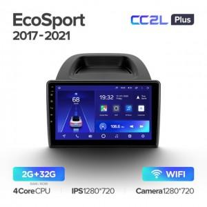 Штатная автомагнитола на Android TEYES CC2L Plus для Ford EcoSport 2017-2021