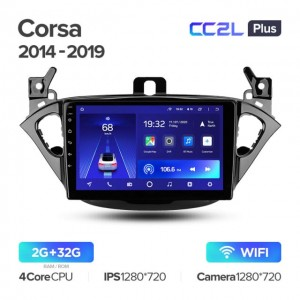 Штатная автомагнитола на Android TEYES CC2L Plus для Opel Corsa 2014-2019
