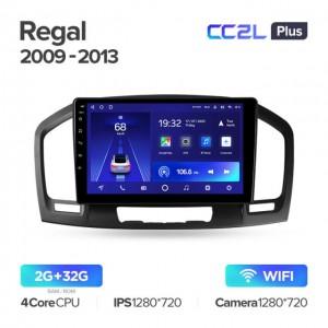 Штатная автомагнитола на Android TEYES CC2L Plus для Opel Insignia 1 2009-2013