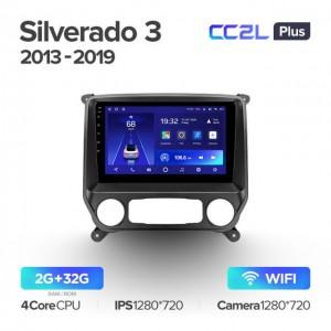 Штатная автомагнитола на Android TEYES CC2L Plus для Chevrolet Silverado 3 GMTK2 2013-2019