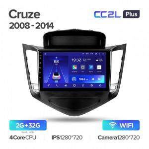 Штатная автомагнитола на Android TEYES CC2L Plus для Chevrolet Cruze J300 2008-2014