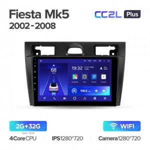Штатная автомагнитола на Android TEYES CC2L Plus для Ford Fiesta Mk5 2002-2008