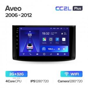 Штатная автомагнитола на Android TEYES CC2L Plus для Chevrolet Aveo T250 2006-2012