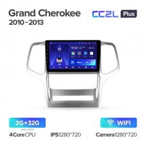 Штатная автомагнитола на Android TEYES CC2L Plus для Jeep Grand Cherokee WK2 2010-2013