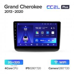 Штатная автомагнитола на Android TEYES CC2L Plus для Jeep Grand Cherokee WK2 2013-2020