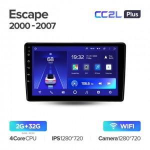 Штатная автомагнитола на Android TEYES CC2L Plus для Ford Escape 2000-2007