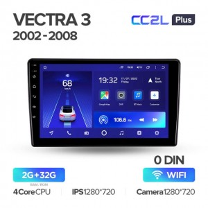 Штатная автомагнитола на Android TEYES CC2L Plus для Opel Vectra 3 C 2002-2008