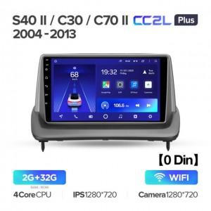 Штатная автомагнитола на Android TEYES CC2L Plus для Volvo S40 II 2 MS C30 I 1 C70 II 2005-2013