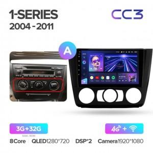 Штатная автомагнитола на Android TEYES CC3 для BMW 1-Series E88, E82, E81, E87 2004-2011 (Версия А)