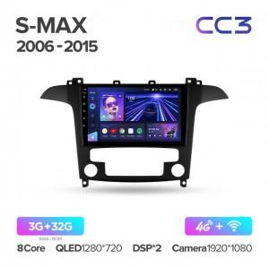 Штатная автомагнитола на Android TEYES CC3 для Ford S-MAX 2006-2015