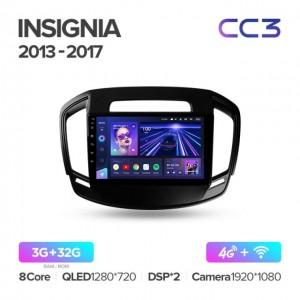 Штатная автомагнитола на Android TEYES CC3 для Opel Insignia 2013-2017