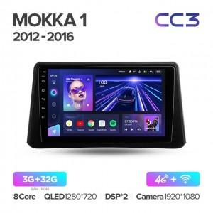 Штатная автомагнитола на Android TEYES CC3 для Opel Mokka 1 2012-2016