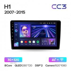 Штатная автомагнитола на Android TEYES CC3 для Hyundai H1 TQ 2007-2015