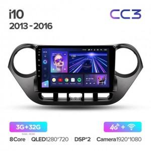 Штатная автомагнитола на Android TEYES CC3 для Hyundai i10 2013-2016