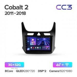 Штатная автомагнитола на Android TEYES CC3 для Chevrolet Cobalt 2 2011-2018