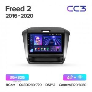 Штатная автомагнитола на Android TEYES CC3 для Honda Freed 2 2016-2020