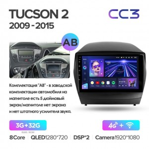 Штатная автомагнитола на Android TEYES CC3 для Hyundai Tucson 2 LM IX35 2009-2015 (Версия А и В)