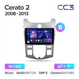 Штатная автомагнитола на Android TEYES CC3 для Kia Cerato 2 TD 2008-2013 (Версия B)