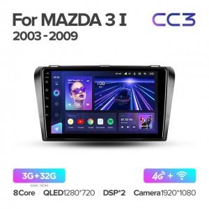 Штатная автомагнитола на Android TEYES CC3 для Mazda 3 BK 2003-2009