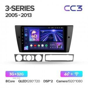 Штатная автомагнитола на Android TEYES CC3 для BMW 3-Series E90, E91, E92, E93 2005-2013