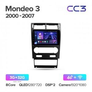 Штатная автомагнитола на Android TEYES CC3 для Ford Mondeo 3 2000-2007
