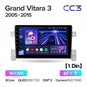 Штатная автомагнитола на Android TEYES CC3 для Suzuki Grand Vitara 3 2005-2015