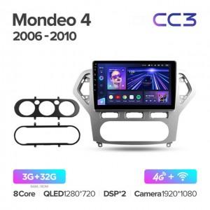 Штатная автомагнитола на Android TEYES CC3 для Ford Mondeo 4 2006-2010