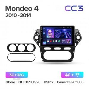 Штатная автомагнитола на Android TEYES CC3 для Ford Mondeo 4 2010-2014