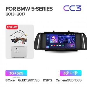Штатная автомагнитола на Android TEYES CC3 для BMW 5 Series F10, F11 2013-2017